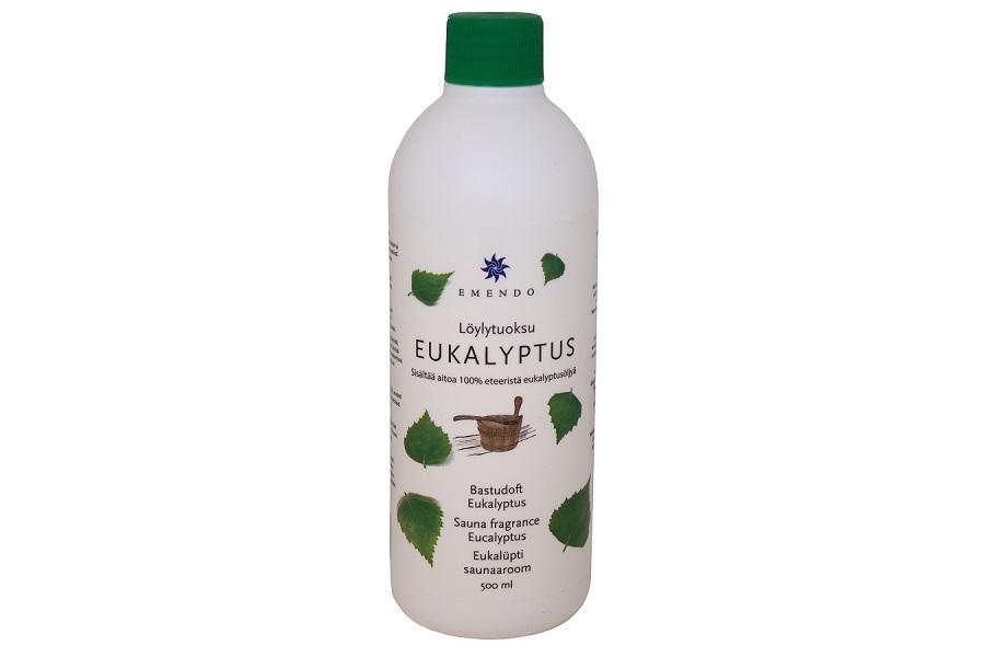 Arome eucalyptus 500ml emendo bois et sauna - Huile essentielle pour sauna ...